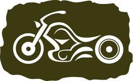 Μοτοσικλέτα συνήθειας διανυσματική απεικόνιση