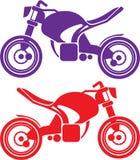 Μοτοσικλέτα σχεδίου απεικόνιση αποθεμάτων