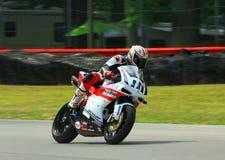 Μοτοσικλέτα φυλών Ducati Στοκ Φωτογραφία
