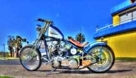 Μοτοσικλέτα Davidson Harley Στοκ Εικόνες