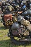 Μοτοσικλέτες αμερικάνικου στρατού Στοκ εικόνα με δικαίωμα ελεύθερης χρήσης