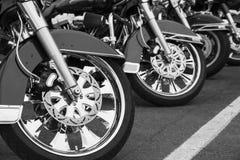 μοτοσικλέτες Στοκ Φωτογραφία