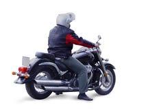 μοτοσυκλετιστής στοκ εικόνα με δικαίωμα ελεύθερης χρήσης