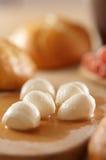 μοτσαρέλα τυριών Στοκ Εικόνες