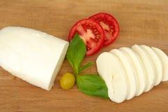 μοτσαρέλα τυριών στοκ φωτογραφίες με δικαίωμα ελεύθερης χρήσης