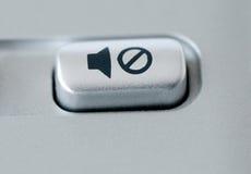 μουγγός κουμπιών στοκ εικόνα