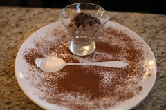 Μουγκρητά σοκολάτας Στοκ Φωτογραφία