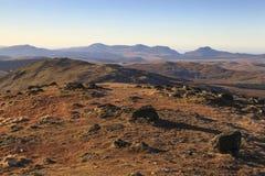 Μουντή θέα βουνού Rhinog Στοκ Εικόνες