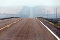 Μουντός δρόμος στοκ εικόνα