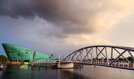 Μουσείο Άμστερνταμ επιστήμης Στοκ Φωτογραφίες