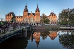Μουσείο Άμστερνταμ Στοκ εικόνα με δικαίωμα ελεύθερης χρήσης