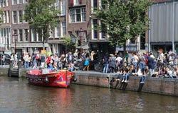 Μουσείο Άννας Φρανκ στο Άμστερνταμ, Ολλανδία Στοκ Εικόνα
