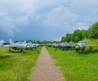 Μουσείο αεροσκαφών - έκθεση αεροπλάνων Στοκ Εικόνες