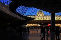 Μουσείο ανοιγμάτων εξαερισμού στο Παρίσι Στοκ Εικόνα
