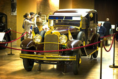 Μουσείο αυτοκινήτων Βατικάνου Στοκ εικόνες με δικαίωμα ελεύθερης χρήσης