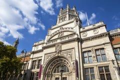 μουσείο Βικτώρια Αλβέρτου Λονδίνο Στοκ Φωτογραφίες