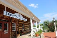 Μουσείο Βιρτζίνια κοιλάδων Luray στοκ εικόνες