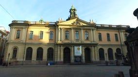 Μουσείο βραβείων Νόμπελ, Στοκχόλμη, Σουηδία απόθεμα βίντεο