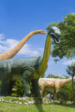 Μουσείο δεινοσαύρων Στοκ εικόνες με δικαίωμα ελεύθερης χρήσης