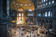 Μουσείο εκκλησιών Sopia Hagia, ταξίδι Κωνσταντινούπολη, Τουρκία Στοκ εικόνες με δικαίωμα ελεύθερης χρήσης