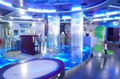 Μουσείο επιστήμης και τεχνολογίας Shenzhen Baoan, το μουσείο του προτύπου κόσμου Στοκ εικόνα με δικαίωμα ελεύθερης χρήσης