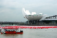 Μουσείο επιστήμης στη Σιγκαπούρη στοκ εικόνα