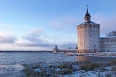Μουσείο-επιφύλαξη kirillo-Belozerski Στοκ Εικόνες