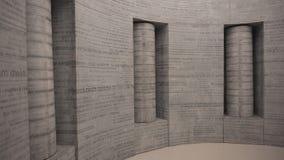 Μουσείο εργοστασίων Schindler στην Κρακοβία Στοκ εικόνες με δικαίωμα ελεύθερης χρήσης