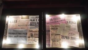 Μουσείο εργοστασίων Schindler στην Κρακοβία Στοκ φωτογραφίες με δικαίωμα ελεύθερης χρήσης