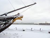 Μουσείο ερημητηρίων το χειμώνα Στοκ εικόνα με δικαίωμα ελεύθερης χρήσης