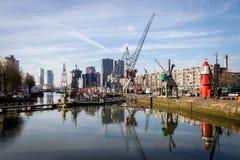 Μουσείο λιμανιών του Ρότερνταμ Στοκ εικόνες με δικαίωμα ελεύθερης χρήσης