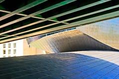 μουσείο Ισπανία του Μπι&lambd Στοκ εικόνα με δικαίωμα ελεύθερης χρήσης