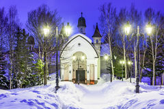 Μουσείο κρυστάλλου χιονιού στην Ιαπωνία Στοκ Εικόνες