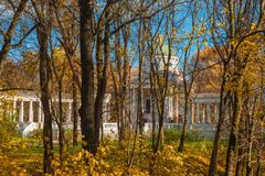 Μουσείο-κτήμα Arkhangelskoye Στοκ Εικόνες