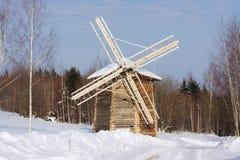μουσείο μύλων αρχιτεκτονικής ξύλινο Στοκ φωτογραφία με δικαίωμα ελεύθερης χρήσης