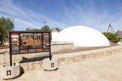 Μουσείο νερού σε Fuente Alamo, Murcia στοκ εικόνα