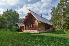 μουσείο Ουκρανία αρχιτεκτονικής lviv ξύλινη Στοκ εικόνα με δικαίωμα ελεύθερης χρήσης