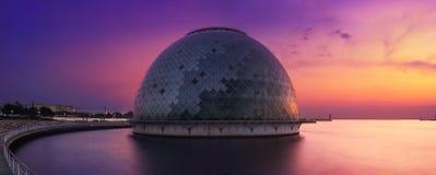 Μουσείο & πανόραμα της Οζάκα θαλάσσιο Στοκ φωτογραφία με δικαίωμα ελεύθερης χρήσης