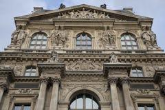 μουσείο Παρίσι ανοιγμάτων εξαερισμού τέχνης Στοκ Εικόνες