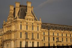 μουσείο Παρίσι ανοιγμάτων εξαερισμού τέχνης Στοκ φωτογραφία με δικαίωμα ελεύθερης χρήσης