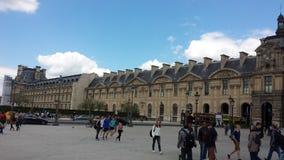 μουσείο Παρίσι ανοιγμάτω Στοκ Εικόνα
