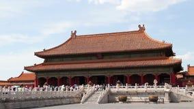 Μουσείο παλατιών στην ημέρα Qianqinggong HD απόθεμα βίντεο