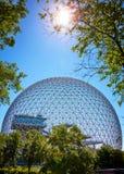 Μουσείο περιβάλλοντος βιόσφαιρας σε Parc Jean Drapeau στο νησί Άγιος-Helen στο Μόντρεαλ, Κεμπέκ, Καναδάς στοκ φωτογραφίες