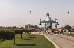 Μουσείο Πολεμικής Αεροπορίας του Πακιστάν στο Καράτσι Στοκ Φωτογραφία