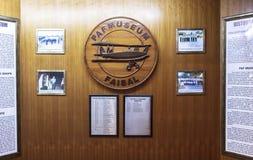 Μουσείο Πολεμικής Αεροπορίας του Πακιστάν στο Καράτσι Στοκ εικόνες με δικαίωμα ελεύθερης χρήσης