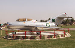 Μουσείο Πολεμικής Αεροπορίας του Πακιστάν στο Καράτσι Στοκ Εικόνες