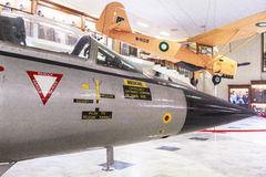 Μουσείο Πολεμικής Αεροπορίας του Πακιστάν στο Καράτσι Στοκ Φωτογραφίες