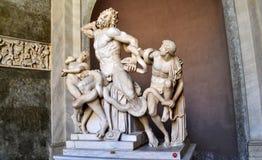 Μουσείο πόλεων του Βατικανού Στοκ Εικόνες