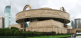 μουσείο Σαγγάη στοκ φωτογραφίες με δικαίωμα ελεύθερης χρήσης