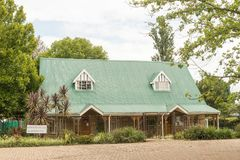 Μουσείο σε Winterton στη kwazulu-γενέθλια επαρχία Στοκ Εικόνες